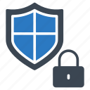 lock, private, protection, secure, shield icon