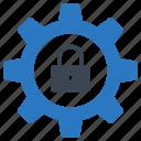 configure, lock, preference, private, setting icon