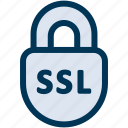 lock, security, ssl