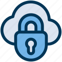cloud, protection, lock
