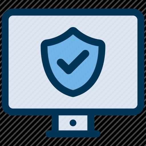 antivirus, computer, protection icon