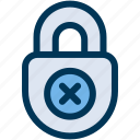insecure, risk, unsafe icon