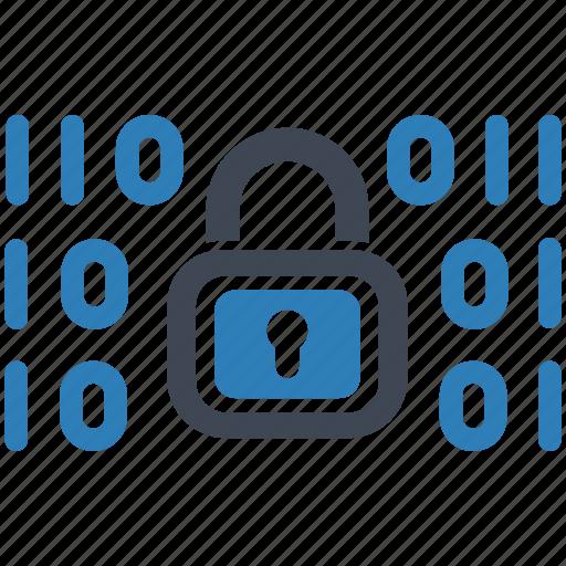 data, encryption, security icon