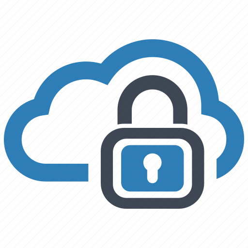 cloud, data, security icon