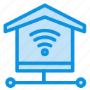 internet, security, signal icon