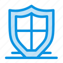 internet, protection, safety, security, shield icon