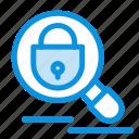 internet, lock, research, search