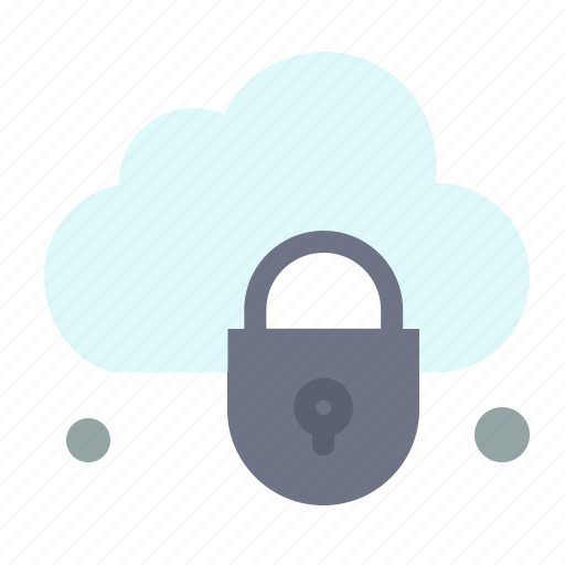 Cloud, internet, lock, security icon - Download on Iconfinder