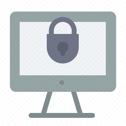 Computer, internet, lock, security icon - Download on Iconfinder