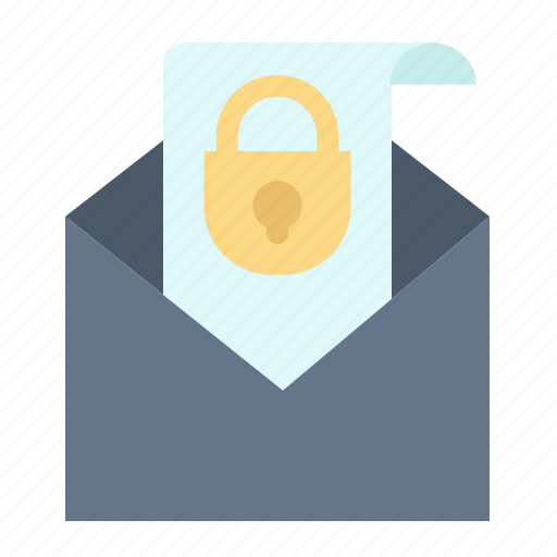 Email, mail, message, security icon - Download on Iconfinder