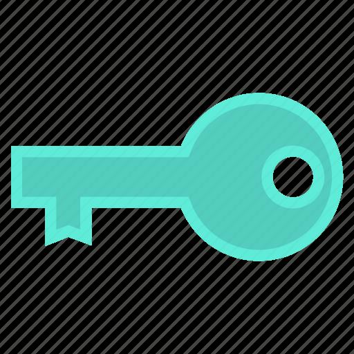 door, key, lock, security, unlock icon