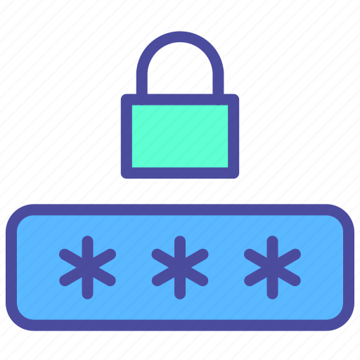 Computer, lock, login, password, security icon - Download on Iconfinder