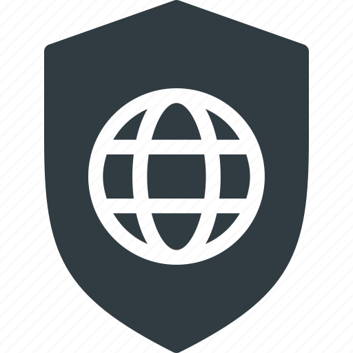 global, internet, network, privacy policy, protection, security, web icon