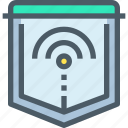connect, network, protect, secure, security icon