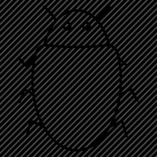 bee, bug, insect, malware, virus icon