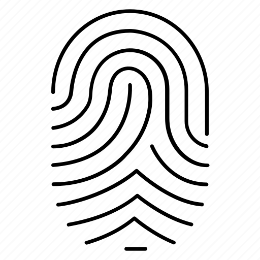 fingerlock, identity, private, protection, secure icon