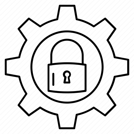 lock, preference, protection, secure, setting icon