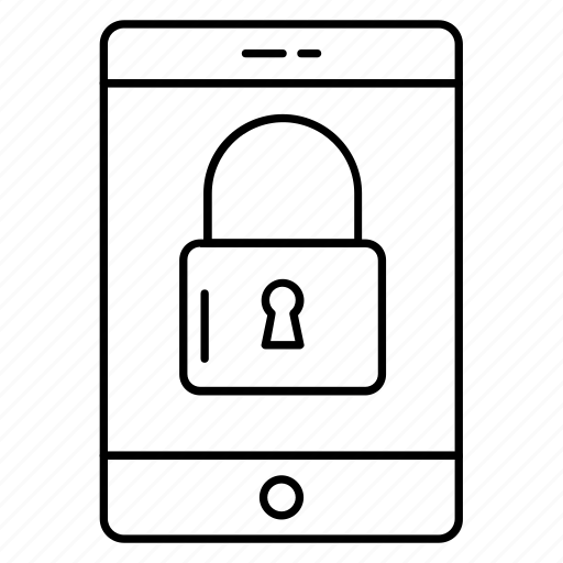 device, mobilelock, phone, private, secure icon