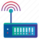 broadband, internet, modem, wifi, wireless, wireless modem icon