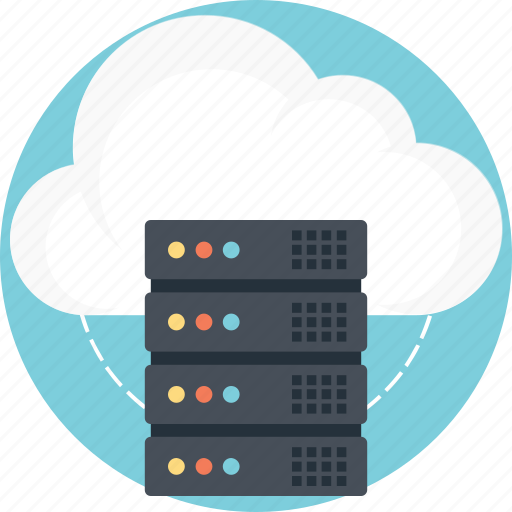 cloud hosting, cloud server, cloud service, cloud storage, internet cloud server icon