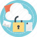 cloud data protection, cloud storage encrypted, cloud storage technology, online storage security, wireless data protection icon