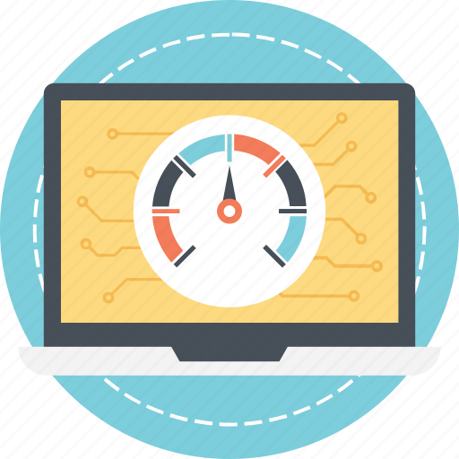 internet speed, kpi, page loading speed, website performance, website speed icon