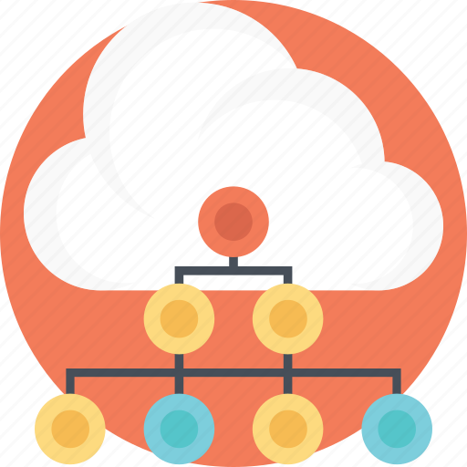 cloud network, distributed cloud, multiple system sharing, shared cloud network, shared cloud services icon