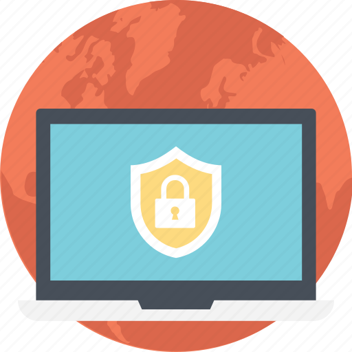 computer security, cyber security, internet security, online security, web security icon