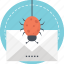 bulk email, email spam, junk mail, unsolicited message, unwanted email icon