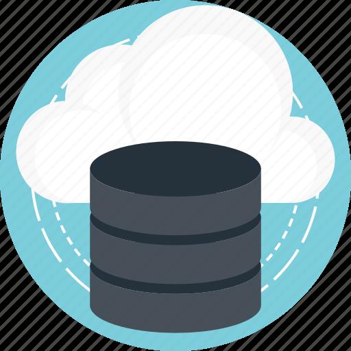 cloud computing, cloud database, cloud storage, computing platform, mysql backup icon