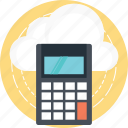 cloud computing pricing, cloud computing, cloud computing cost, cloud computing expense, cloud computing charges icon