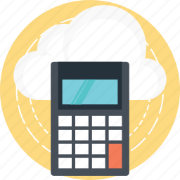 cloud computing, cloud computing charges, cloud computing cost, cloud computing expense, cloud computing pricing icon