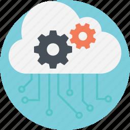 big data management, cloud computing management, cloud computing services, cloud computing technology, cloud network hosting icon