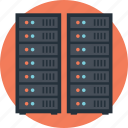 data center, database, hosting center, server, web hosting