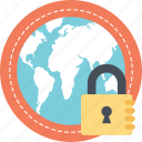 browser security, cyber security, internet security, online protection, web authentication system icon