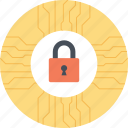 cyber security, cyber security design, cyber technology, internet security, network security icon