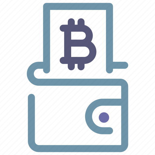 bitcoin, crypto, cryptocurrency, currency, digital, money, wallet icon