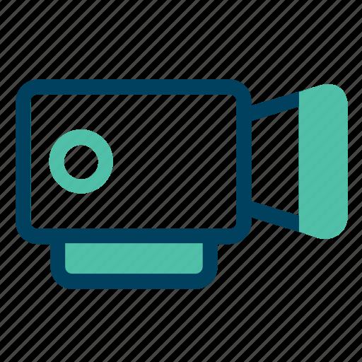 camera, film, play, record, video icon