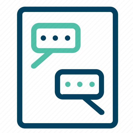 bubble, chat, dialogue, sms, speech icon