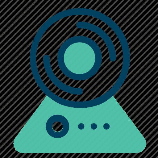 camera, computer, record, video, web icon