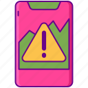 alert, notification, smart, warning icon