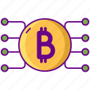 bitcoin, crypto, cryptocurrency, currency, investment icon