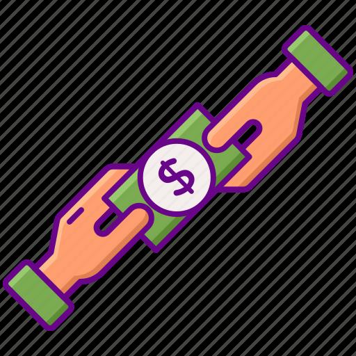 Dividends, dollar, exchange, money, payment, profit icon - Download on Iconfinder