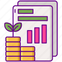 investment, plan icon