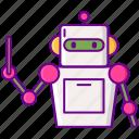 advisor, robo icon