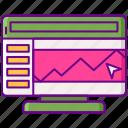 trading, web icon