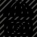 dollar, finance, money, protection, umbrella icon