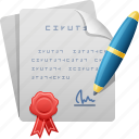 stamp, contract, agreement, pen, document, form, signing