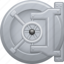 bank, safe, savings, security, vault, wealth icon