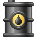 fossil fuel, fuel, investment, oil, oil barrel, oil drum icon
